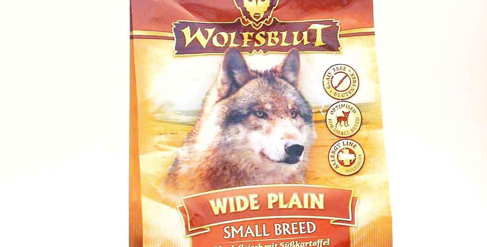 【WOLFSBLUT】ウルフブラット  ワイドプレーン  スモールブリード (馬肉)500g