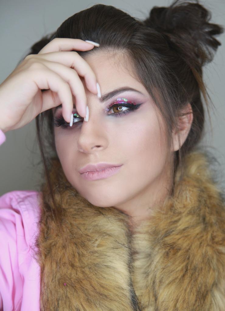 glitter makep