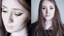 Anastazija model makeup