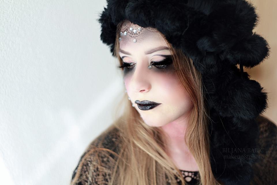 oriental dark makeup