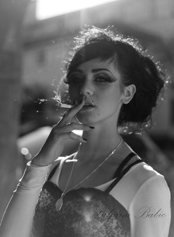 portrait smoker