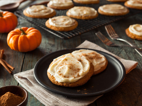 Frosted Pumpkin Spice Cookies