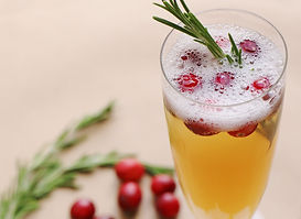 Cranberry Cider Champagne Cocktail copy.