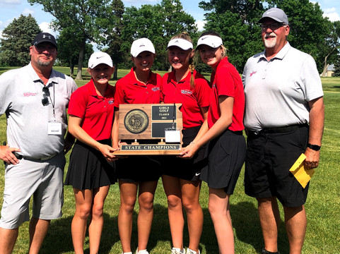 State Golf Champs!