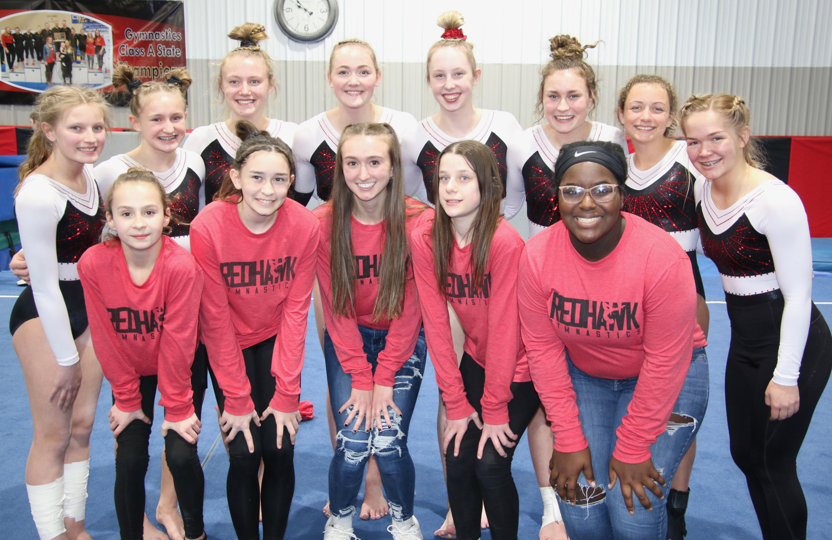 Congrats Gymnastics on their 5th place state finsh