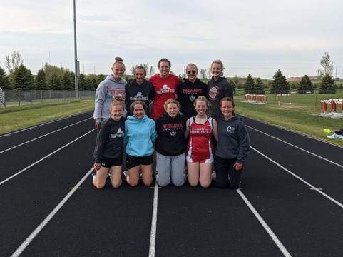 Girls take 3rd at Region Track