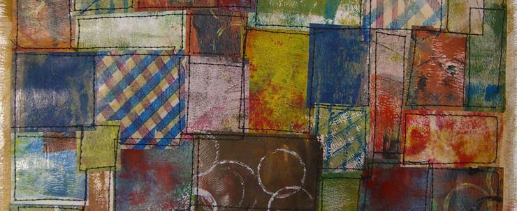 Painted Paper Quilt # 1