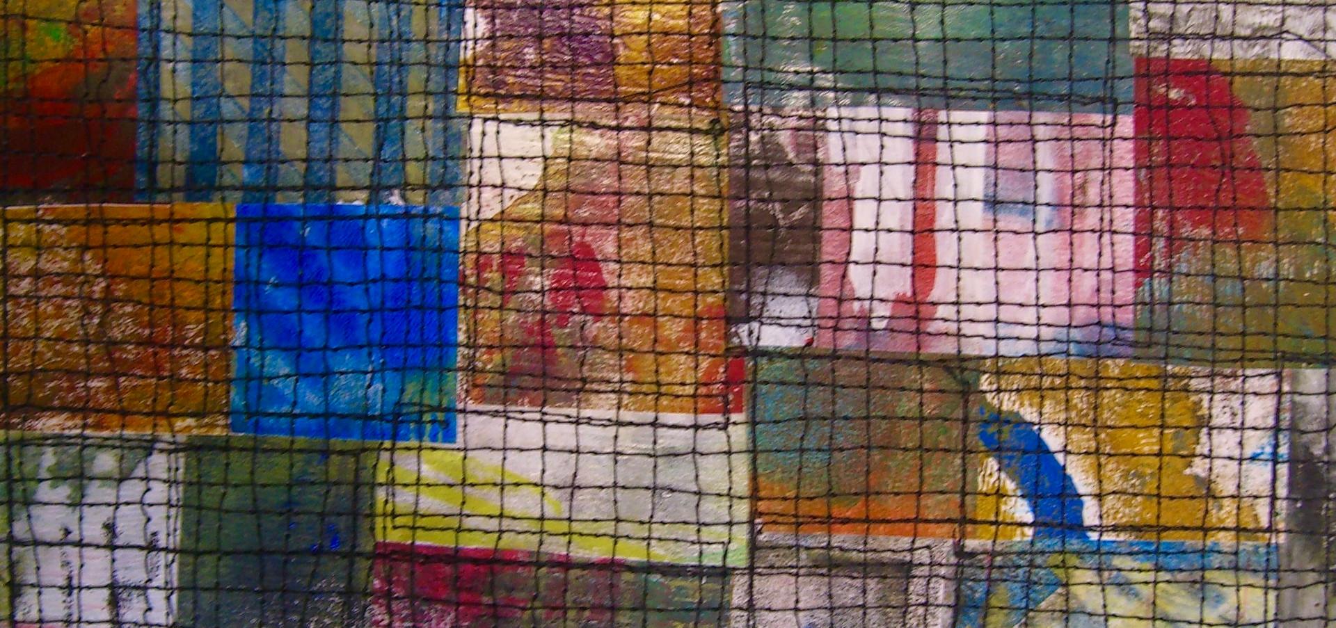 Painted Paper Quilt #5