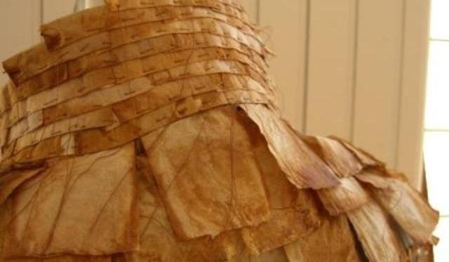 1000 Tea Bags (Kimono) Collar Detail