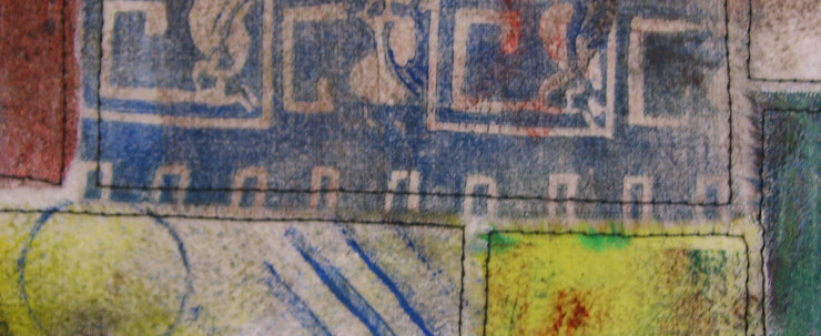 Printed Fabric Quilt #1 (Detail 3)