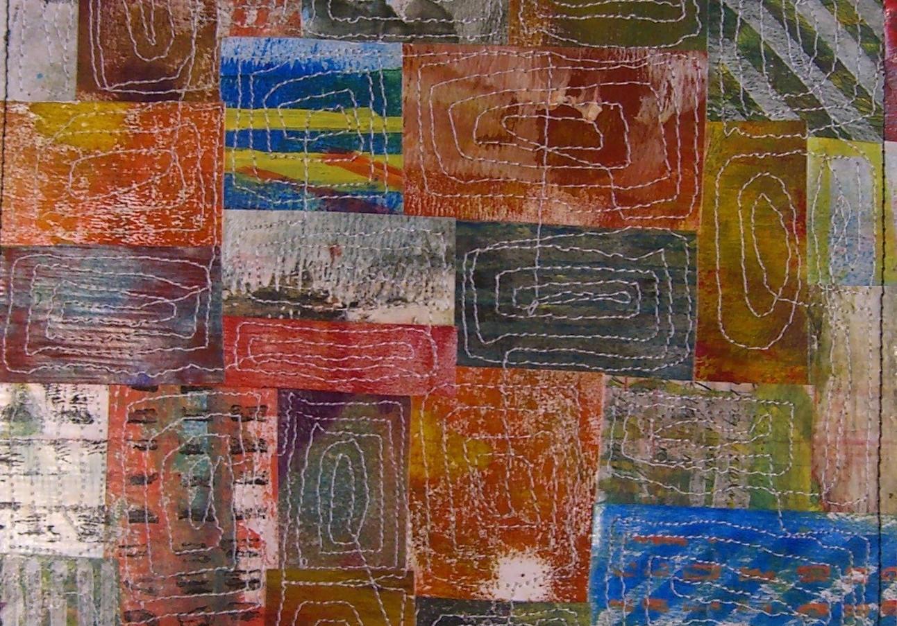 Painted Paper Quilt #7