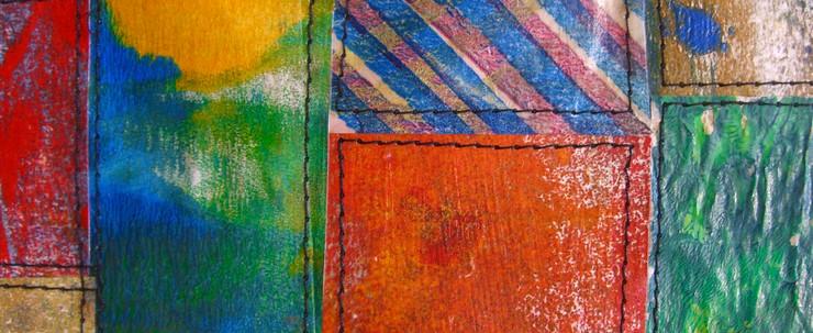 Painted Paper Quilt #3 (Detail)