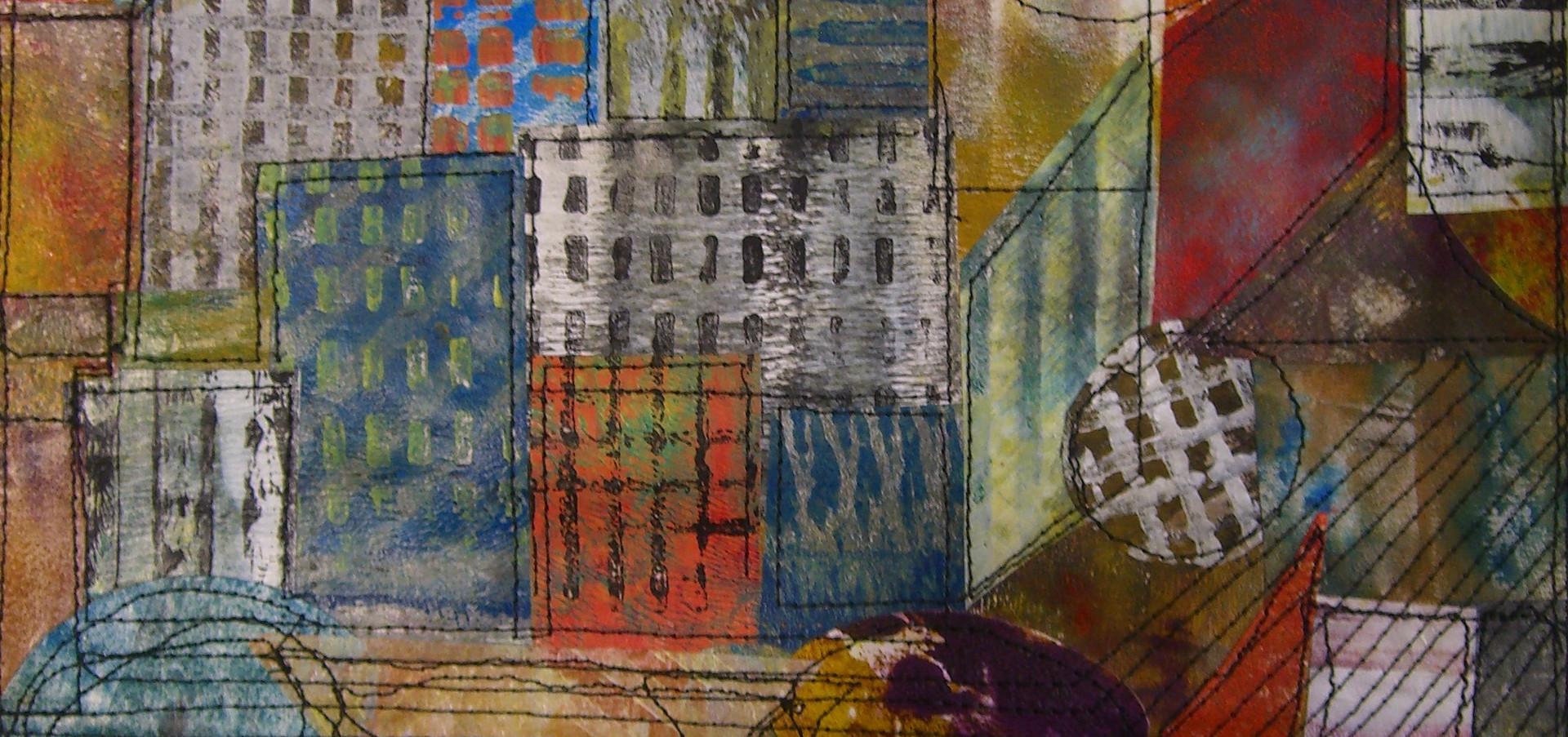 Painted Paper Quilt # 2