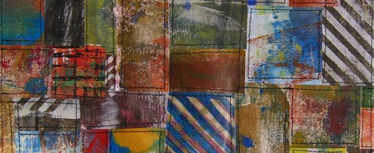 Painted Paper Quilt #3