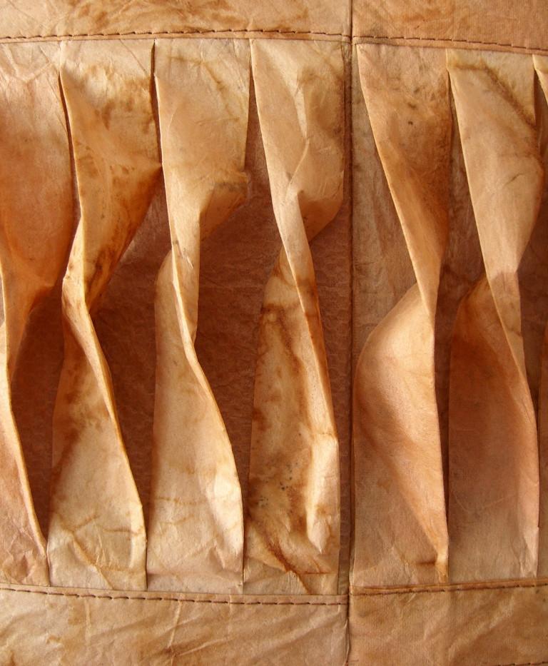 Evolving (Tea Quilt 9) Detail