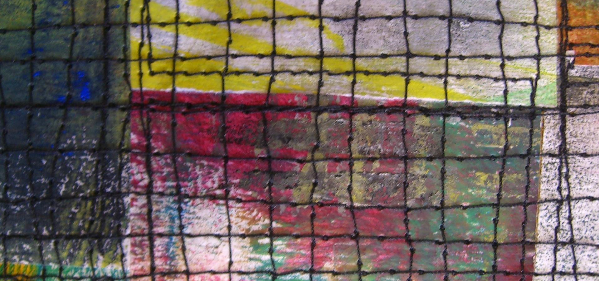 Painted Paper Quilt #5 (Detail)