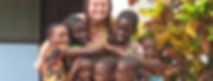 Sister Kelly with the orphanage kids