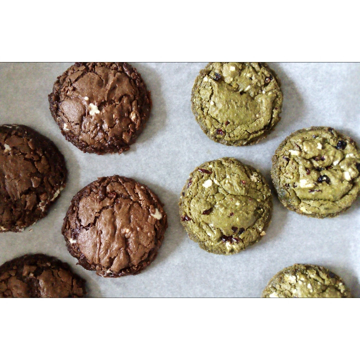 Cookies cacao & matcha