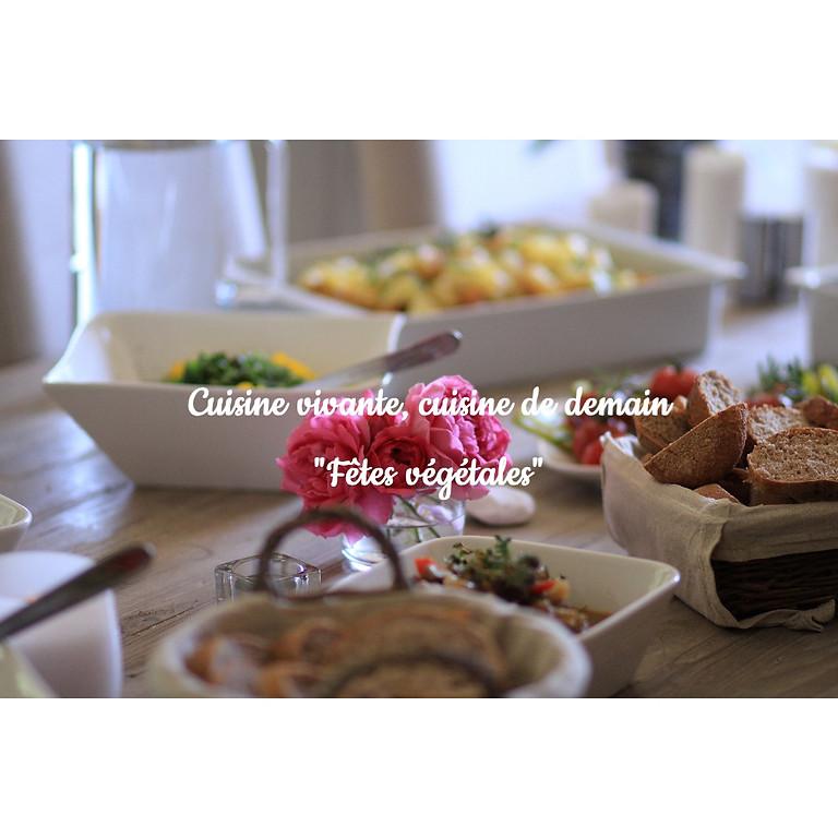"""Stage de cuisine """"Fêtes végétales"""""""