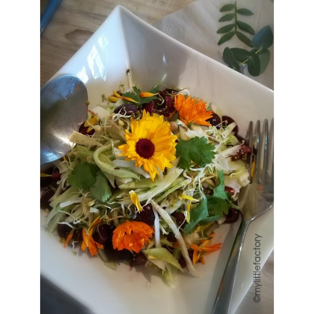 Salade toute crue