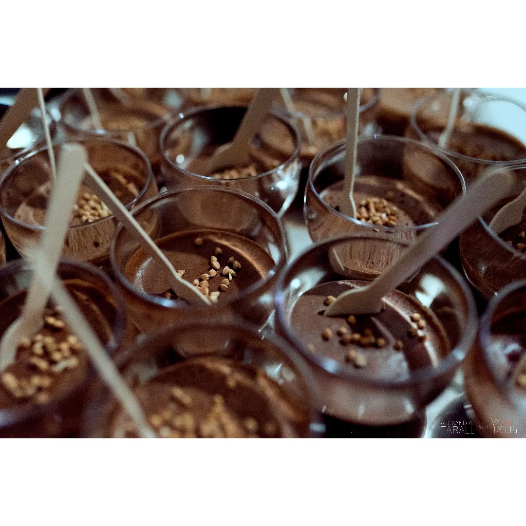 Mousse au chocolat & kasha
