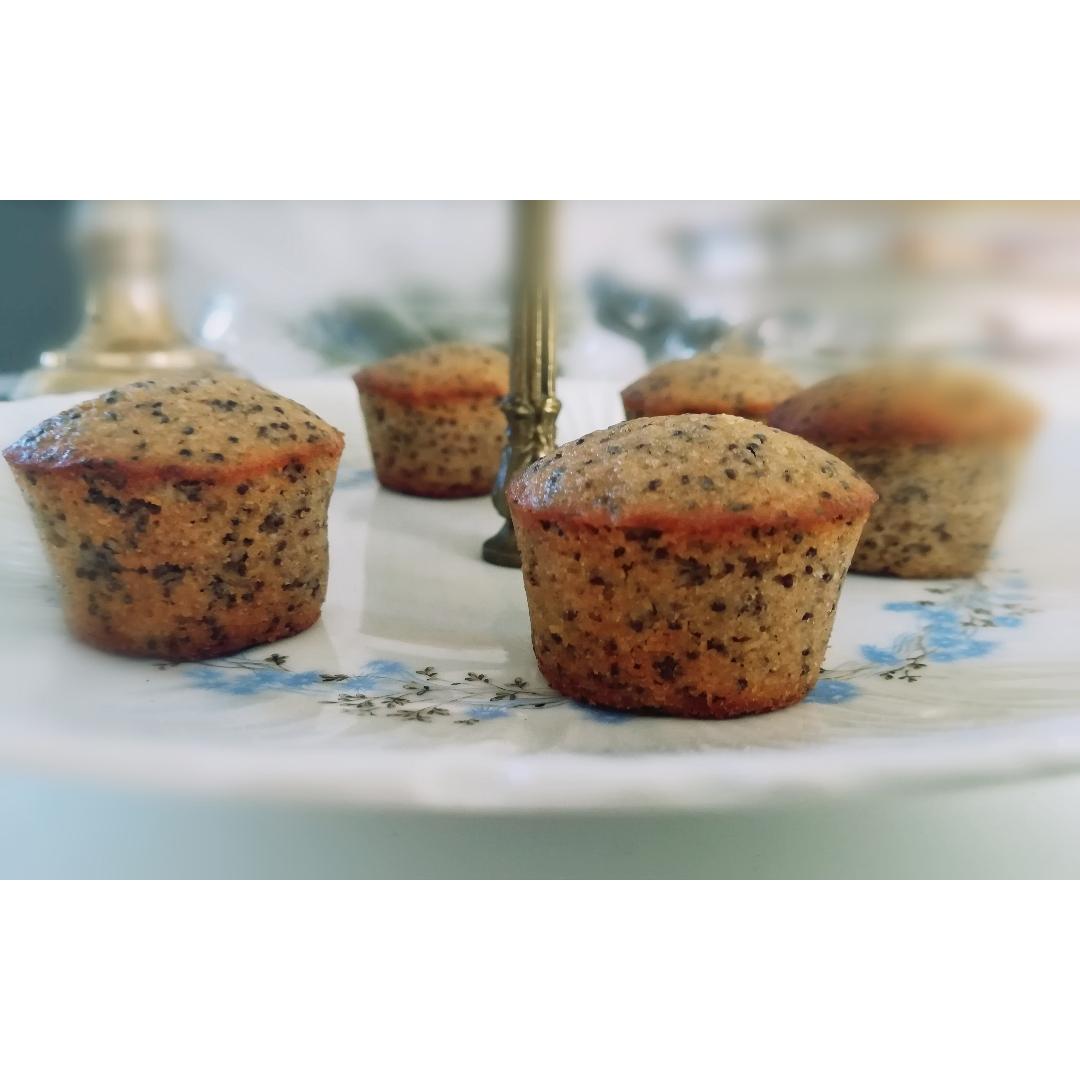 Mini muffins citron pavot
