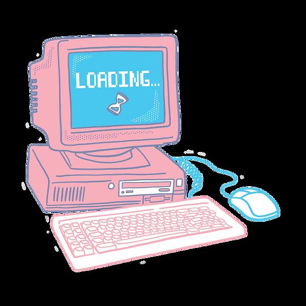 Loading-Retro-Computer-Sticker.png