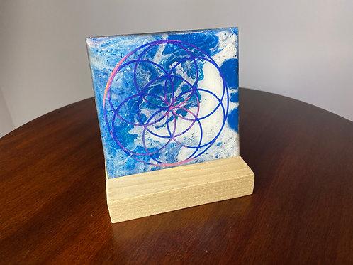 Seed of Life Sacred Geometry Art