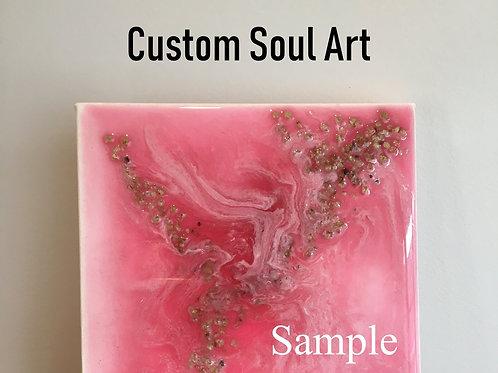 Custom gemstone soul art by artisan jo homar