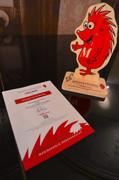 Brahms School certificate and souvenir.J