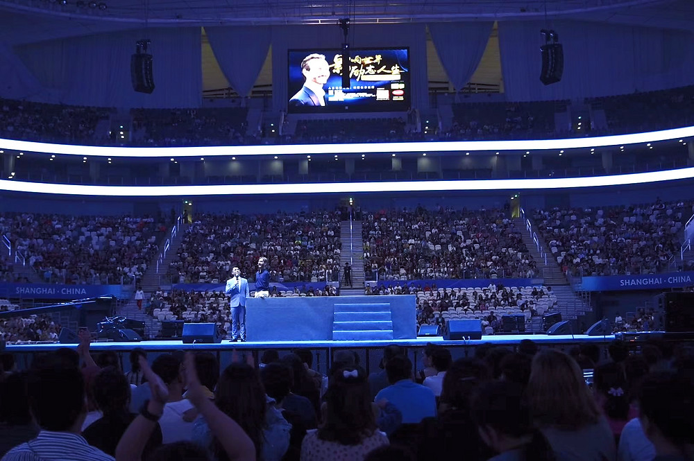 Nick Vujicic Life Without Limits Talk in Shanghai China 2019