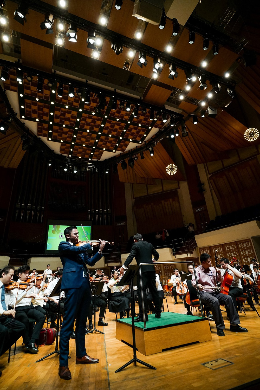 True Colors Symphony's debut concert in Hong Kong