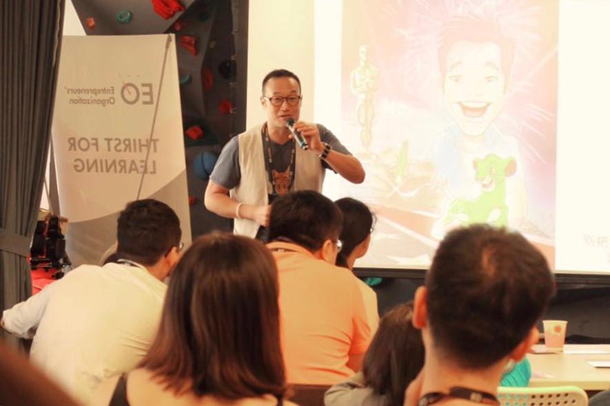 Davy Liu Entrepreneur Organization Asia