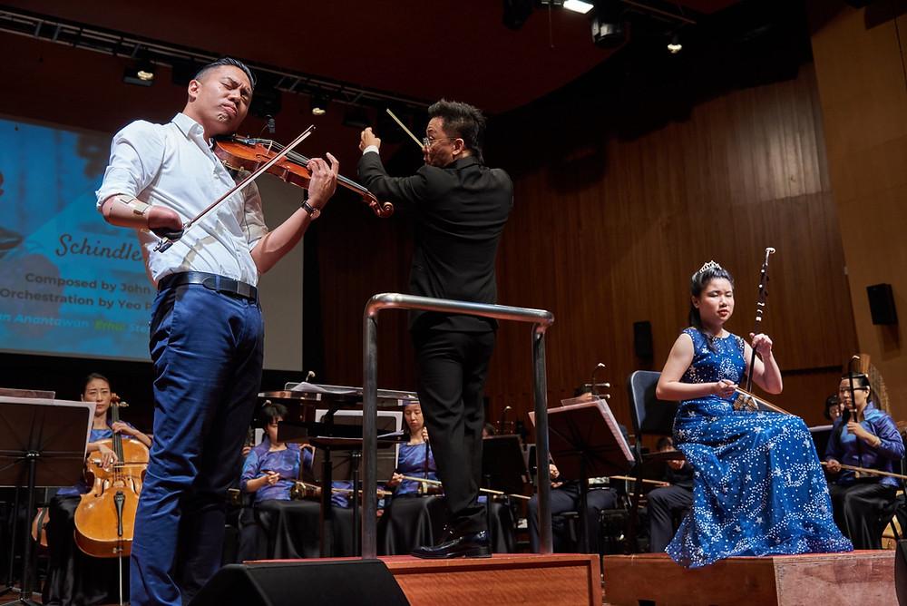 Adrian Anantawan concert in Singapore 2018