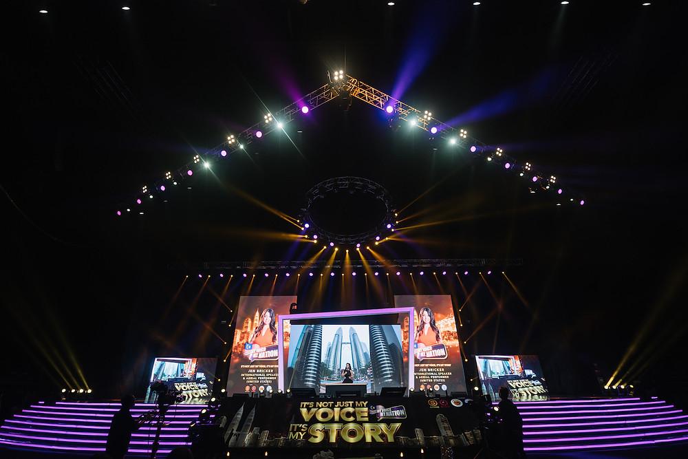 Jen Bricker speech Malaysia, Life Without Limits