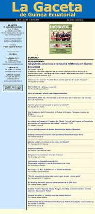 La Gaceta de Guinea febrero 2013