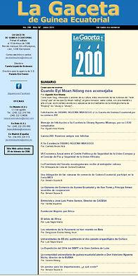 La Gaceta de Guinea Junio 2014