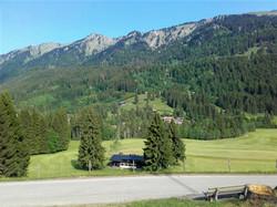 Blick auf unser Berghaus