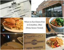 Where to Eat Gluten Free in Columbus, OH (Nima Sensor Tested)