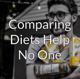 Short Reminder: Comparing Diets Help No One