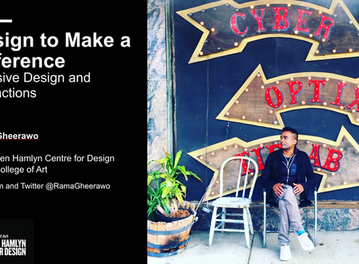 Design to Make a Difference | Design Thinking Camp 2019