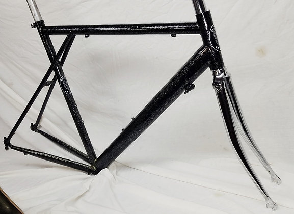 $389 Road Frameset, 57 cm, Ink Black Glitter Bomb Clear Coat