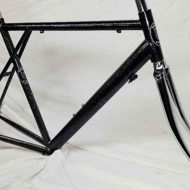 Closeout road frame