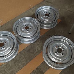 Old BMW wheels