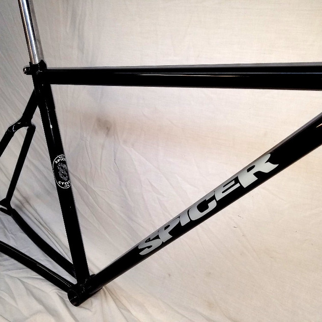Closeout track frame
