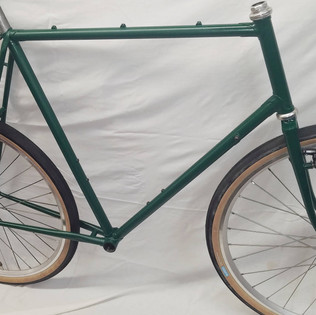 Numerous frame mods to 650B and powder coat