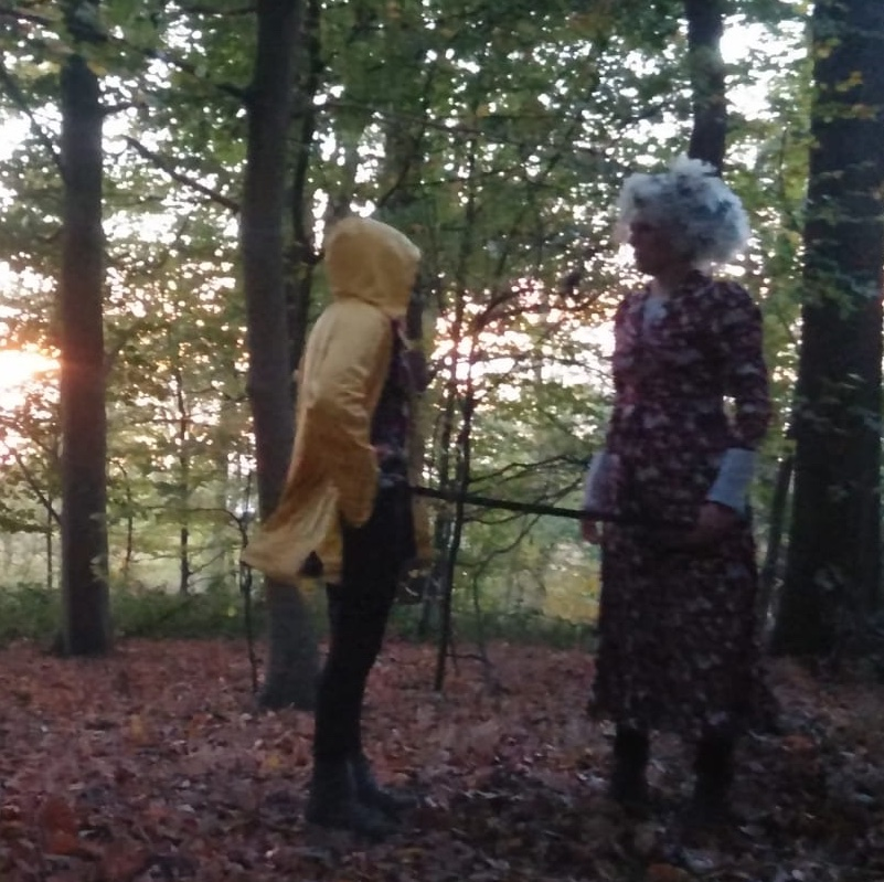 Groodmoeder, de wolf en ik