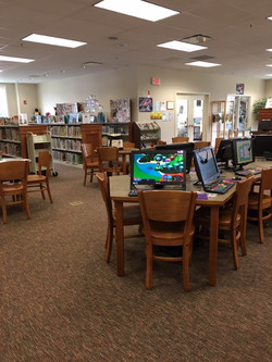 Kids Tech Center with AWE computers