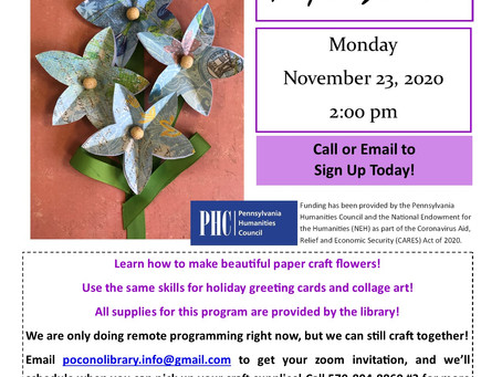Zoom Flower Craft with PMPL!