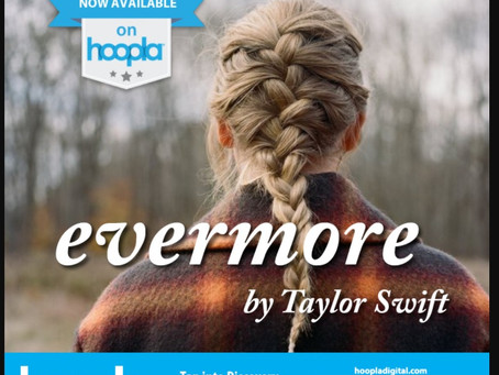 Taylor Swift evermore on Hoopla!